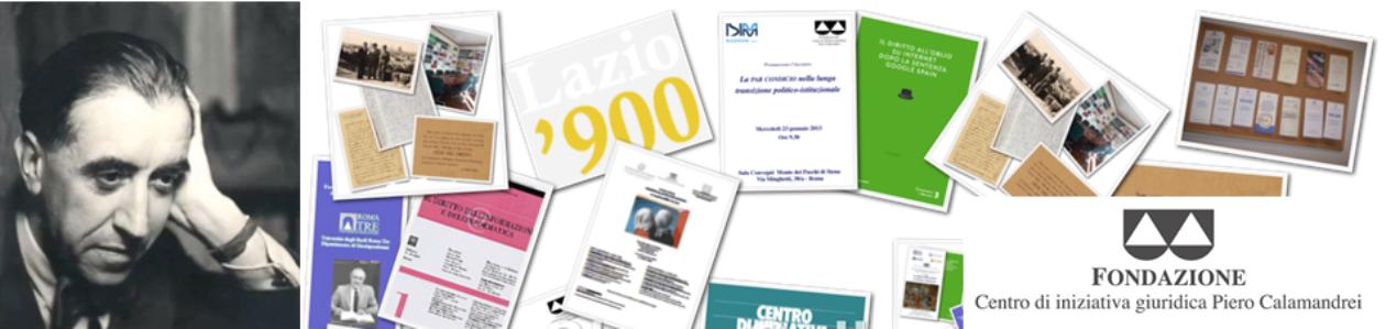 Fondazione Centro di iniziativa giuridica Piero Calamandrei e.t.s.